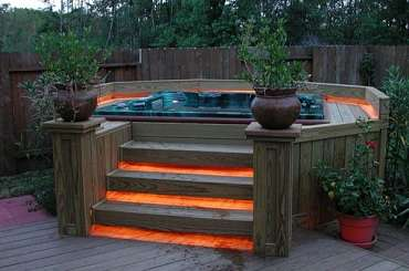 Hot Tub Landscaping. Beginner's Guide On A Cheap Budget.